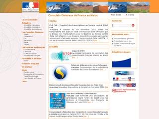 site de consulat de france au maroc demande de visa. Black Bedroom Furniture Sets. Home Design Ideas