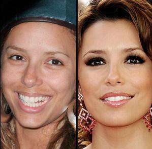 la plus belle femme du monde sans maquillage