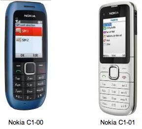 Prix de Nokia C1-01 en France est 55 euros TTC hors subvention.